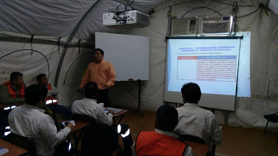 Modificatorias del reglamento de seguridad y salud ocupacional en minería DS 023-2017